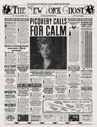 MinaLima Store - The New York Ghost – Picquery Calls For Calm