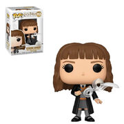Hermione with feather pop vinyl