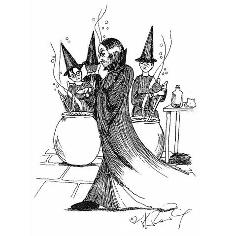File:JKR Severus Snape illustration.png