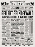 MinaLima Store - The New York Ghost – Grindelwald Strikes Again in Europe
