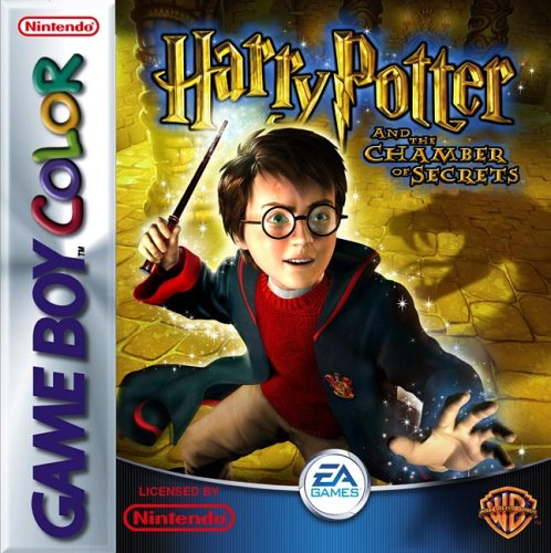 Image result for harry potter and the chamber of secrets  game boy color