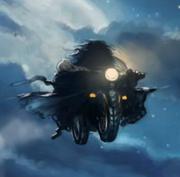 Hagrid e la Motocicletta volante di Sirius Black
