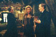 Madam Rosmerta Cornelius Fudge Minerva McGonagall