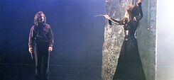 Sirius Black and Bellatrix Lestrange duel 01