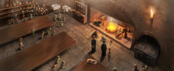 B4C21M2 House-elves in Hogwarts kitchens