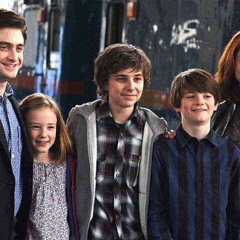 Семья Поттер в 2017 году