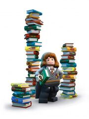 Hermione books Lego Years 1 to 4