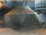Percival Shacklehorn's tent