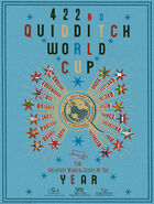 MinaLima Store - The 422nd Quidditch World Cup (Blue) - Poster
