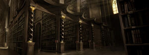 PM-Moment B1C12 HogwartsLibrary