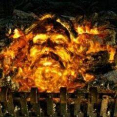 Сириус в огне камина гриффиндорской гостиной