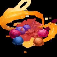 Explodierende Bonbons