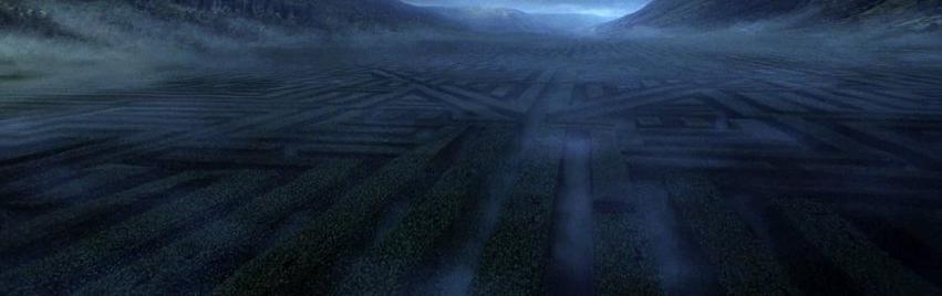 Image result for harry potter hedge maze