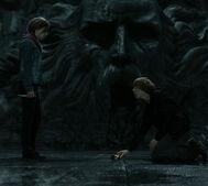 Hermiona niszczy puchar