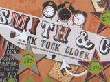 Smith & Co. Tick Tock Clock