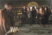 Slughorn's Unterricht mit Lavender