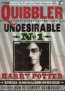 MinaLima Store - The Quibbler - Undesirable No.1