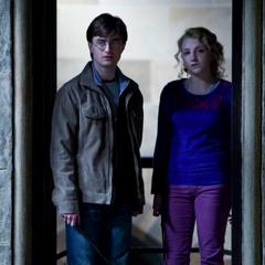 Гарри и Полумна в башне Когтеврана