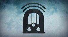 Podcast radio icoon GROOT