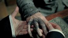Почерневшая рука Дамблдора