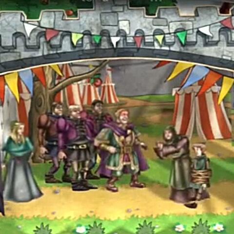 Эдмунд с матерью доставлены в замок