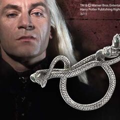 Кольцо Люциуса в виде змеи