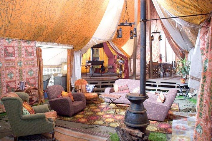 The tentu0027s interior & Perkinsu0027s tent | Harry Potter Wiki | FANDOM powered by Wikia