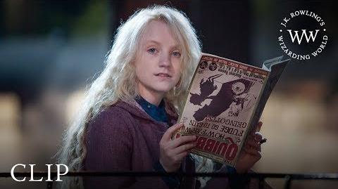 Introducing Luna Lovegood Harry Potter and the Order of the Phoenix