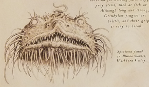 Grindylow collected from Blubberhouses (PA - Illustrated Edition)