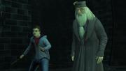Harry et Dumbledore face à Voldemort HP5 PC