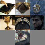 Horcruxes de Lord Voldemort