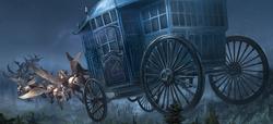 Carruagem de Beauxbatons