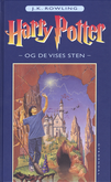 Harry Potter 1 Danish original cover