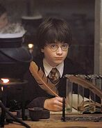 Harry potter s ię uczy