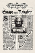 MinaLima Store - The Daily Prophet - Escape from Azkaban!