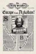 MinaLima Store - The Daily Prophet - Escape from Azkaban!