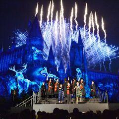 Открытие аттракциона «Гарри Поттер и Запретное путешествие» в Японии