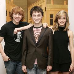 Руперт, Дэниэл и Эмма (25 июня 2007)