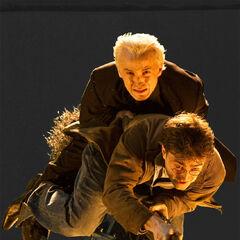 Сцена спасения Драко Малфоя