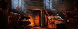 Pokoj wspolny kominek Pottermore
