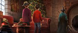 Christmas Firebolt minerva