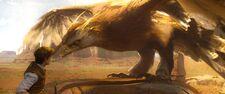 Fantastic beasts frank the thunderbird by giuseppedirosso-db0xbp7