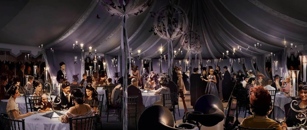 Weasleyu0027s wedding reception concept artwork 02.jpg & Image - Weasleyu0027s wedding reception concept artwork 02.jpg | Harry ...