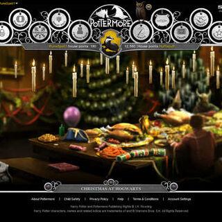 Большой зал в Рождество