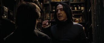 Severus Snape i Harry Potter