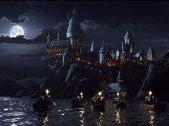 Barcos de Hogwarts