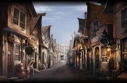 Diagon Alley Lato Nord