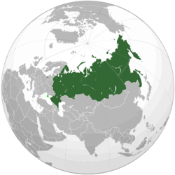 Russian Federation (orthographic projection) svg