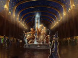 魔法兄弟喷泉