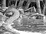 Serpent cornu